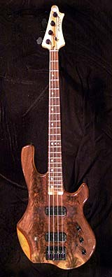 Image of GW Basses DC-2B HRV Bolt On Neck Body Outline
